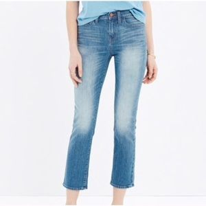 Madewell Kick Out Crop - Thom Wash